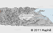 Gray Panoramic Map of Dai Loc