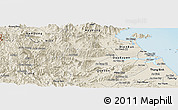 Shaded Relief Panoramic Map of Dai Loc