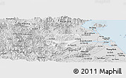 Silver Style Panoramic Map of Dai Loc