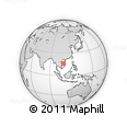 Outline Map of Hoa Vang