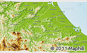 Physical 3D Map of Tien Phuoc