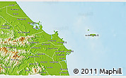 Physical 3D Map of Binh Son