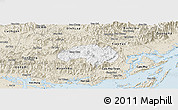 Classic Style Panoramic Map of Ba Che