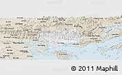 Classic Style Panoramic Map of Hoanh Bo