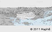 Gray Panoramic Map of Hoanh Bo