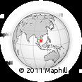 Outline Map of Soc Trang