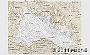 Classic Style 3D Map of Son La