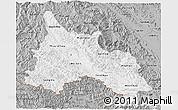Gray 3D Map of Son La