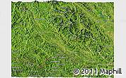 Satellite 3D Map of Son La