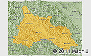 Savanna Style 3D Map of Son La