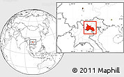 Blank Location Map of Son La