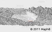 Gray Panoramic Map of Mai Son