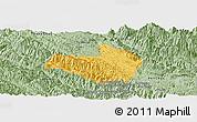 Savanna Style Panoramic Map of Mai Son