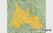 Savanna Style Map of Son La
