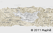 Classic Style Panoramic Map of Muong La