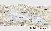Classic Style Panoramic Map of Son La