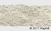 Shaded Relief Panoramic Map of Son La