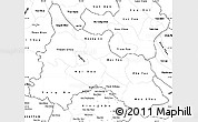 Blank Simple Map of Son La