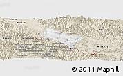 Classic Style Panoramic Map of Yen Chau