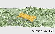 Savanna Style Panoramic Map of Yen Chau