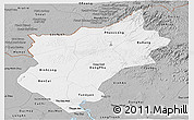 Gray Panoramic Map of Song Be