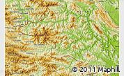 Physical Map of Quan Hoa