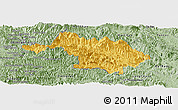 Savanna Style Panoramic Map of Quan Hoa