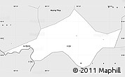 Silver Style Simple Map of Nam Dong