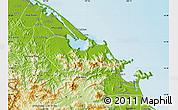 Physical Map of Phu Loc
