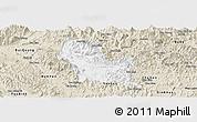 Classic Style Panoramic Map of Chiem Hoa
