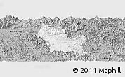 Gray Panoramic Map of Chiem Hoa