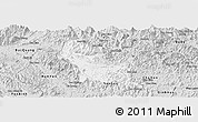 Silver Style Panoramic Map of Chiem Hoa