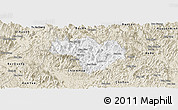Classic Style Panoramic Map of Na Hang