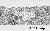 Gray Panoramic Map of Na Hang
