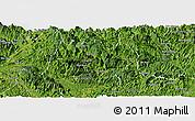 Satellite Panoramic Map of Na Hang