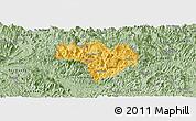 Savanna Style Panoramic Map of Na Hang
