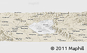 Classic Style Panoramic Map of Son Duong