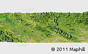 Satellite Panoramic Map of Son Duong