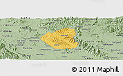 Savanna Style Panoramic Map of Son Duong
