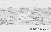 Silver Style Panoramic Map of Son Duong