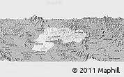 Gray Panoramic Map of Yen Son