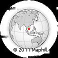 Outline Map of Vinh Long
