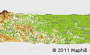 Physical Panoramic Map of Thanh Son