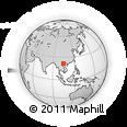Outline Map of Yen Bai