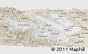 Classic Style Panoramic Map of Yen Bai