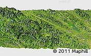 Satellite Panoramic Map of Yen Bai