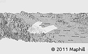 Gray Panoramic Map of Tran Yen