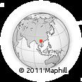 Outline Map of Van Yen