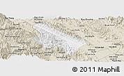 Classic Style Panoramic Map of Van Yen