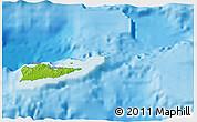 Physical 3D Map of Saint Croix